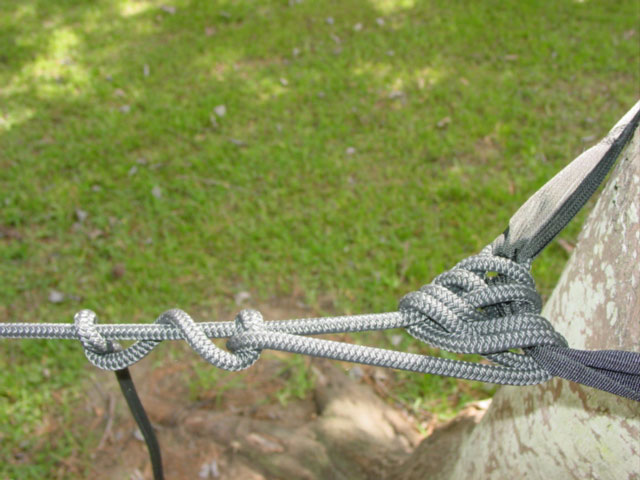 Tying The Hennessey Hammock Knot